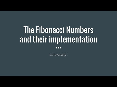 Recursion: Fibonacci Numbers Done Wrong And Right