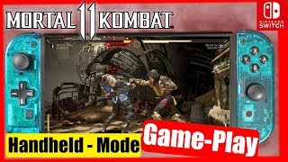 MK11 Switch Handheld Mode GamePlay (V1.0.2)   RussLyman