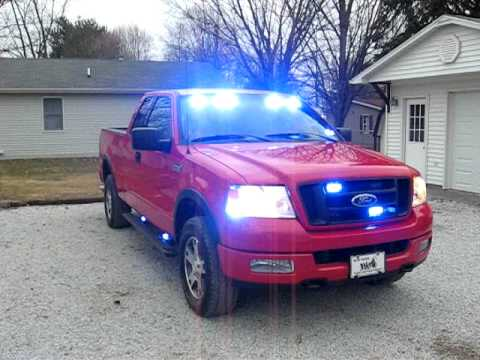 Ford F 150 Firefighters Pov Blue Lights Great Ideas