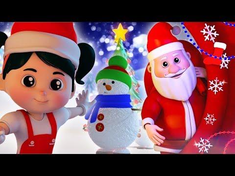 Jingle Bells Song   Feliz Natal   Rimas De Berçário   Animação Vídeos   Farmees Português