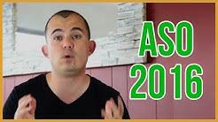 App Store Optimization ASO in 2016