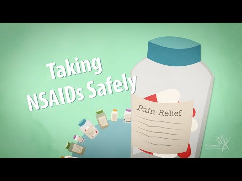 Taking NSAIDs Safely