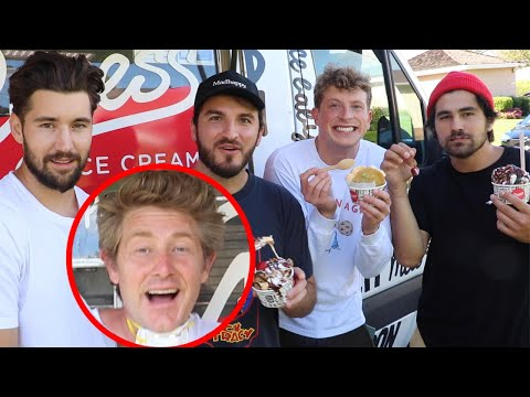 SURPRISING VLOG SQUAD WITH AN ICE CREAM TRUCK!!