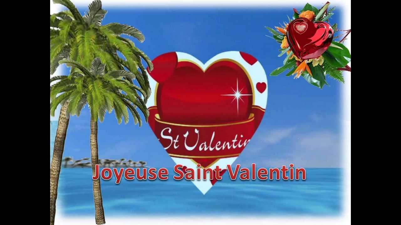 SAINT VALENTIN -cartes virtuelles - YouTube