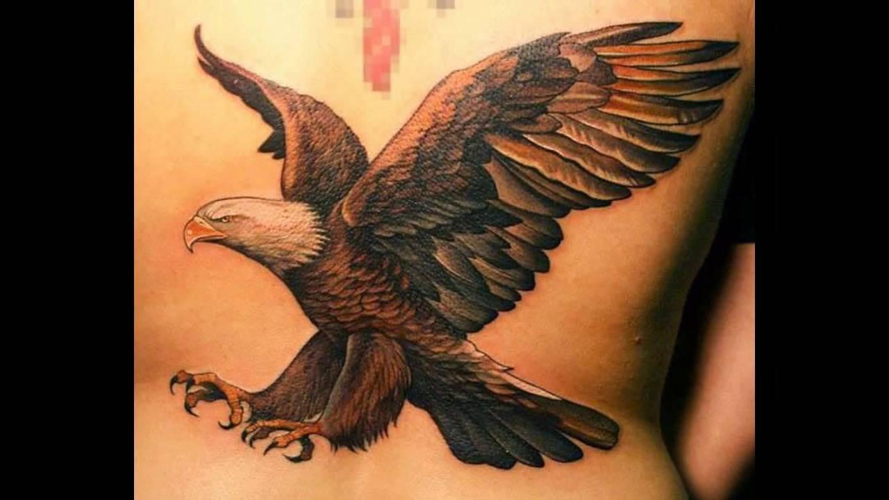 Aguila En La Espalda aguilas tatuajes para mujeres - youtube