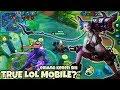 Oh INI Adalah LOL Mobile 60Fps Yang Sebenarnya KOG ( King Of Glory ) MOBA GAME Tencent