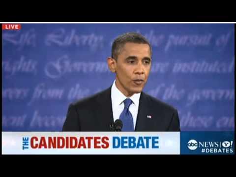 Presidential Debate 2012 - Mitt Romney Vs President Barack Obama (10/3/12) [HD]