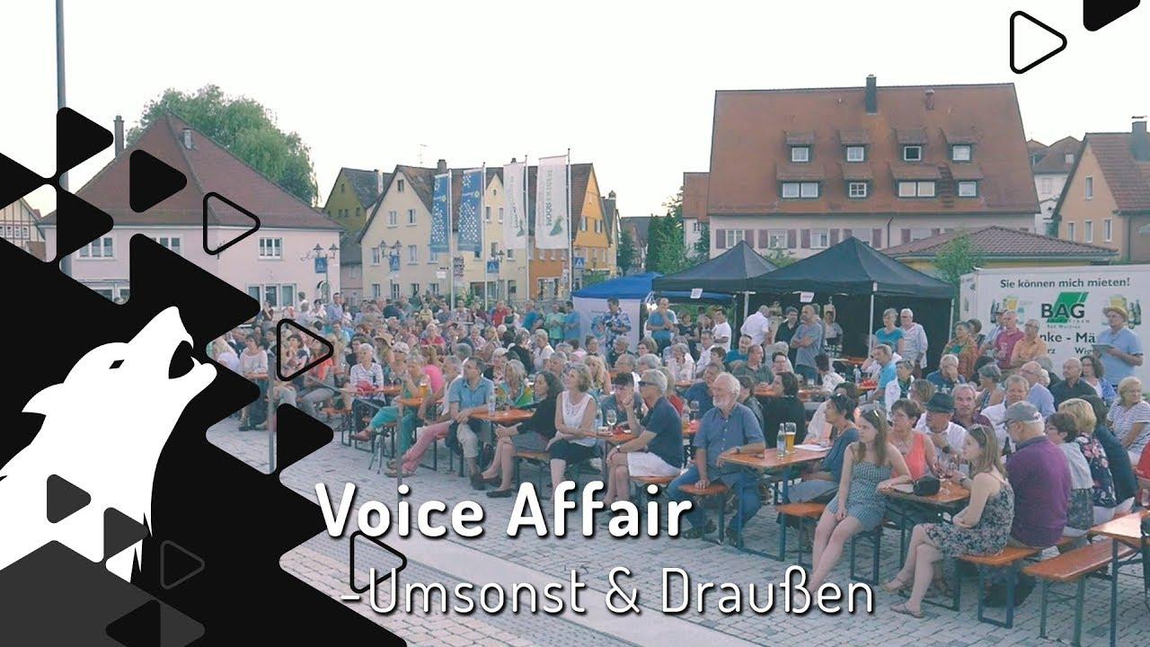 Voice Affair auf dem Klosterplatz | Wurzacher Kulturkreis