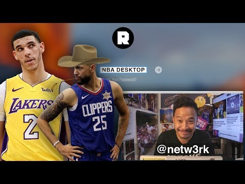 Lonzo's Manners, Kyrie's Injury, And Sheriff Austin | NBA Desktop With Jason Concepcion | The Ringer