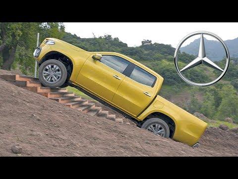 Mercedes X-Class (2018) Off-Road Test Drive