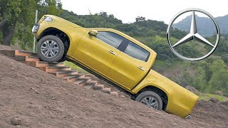 Mercedes X-Class (2018) Off-Road Test Drive