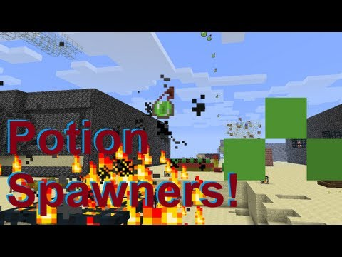 Potion Spawners! (and Other Entities)