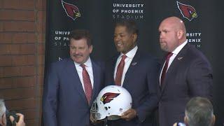 VIDEO: Cardinals introduce their new head coach Steve Wilks