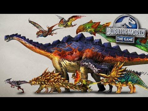 Jurassic World Concept Art VS 3D Models! || Jurassic World