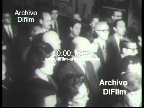 DiFilm - Primera transmisión de la Radiodifusión Argentina (1968)