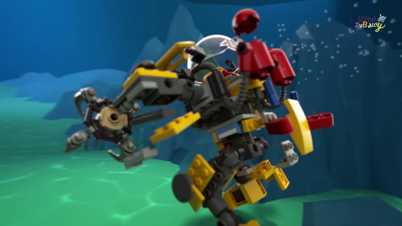 Lego Creator Podwodny Robot 3w1 31090 Wwwkrainazabawypl Youtube