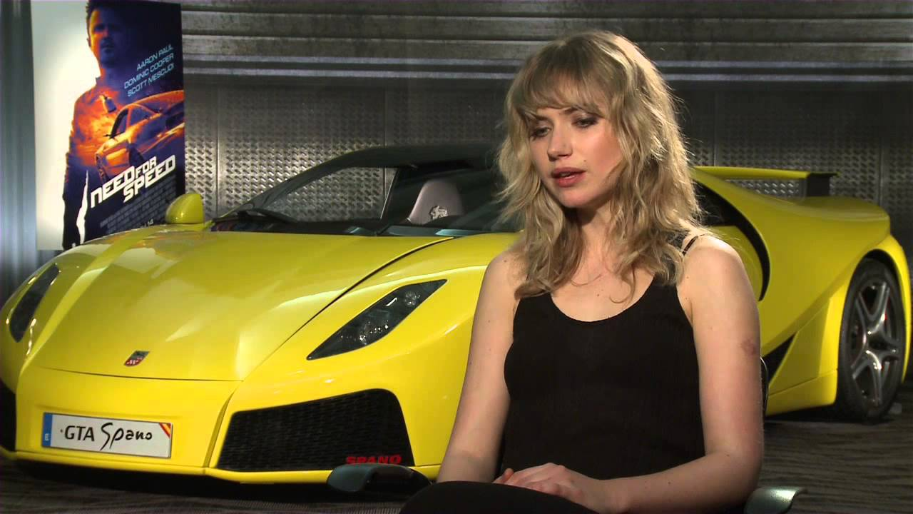 Need For Speed Imogen Poots Julia Maddon Official Movie