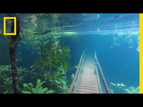 Heavy Rains Submerge Hiking Trails in Crystal Clear Waters | National Geographic