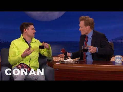 Flula Borg & Conan Drink German Glühwein  - CONAN on TBS