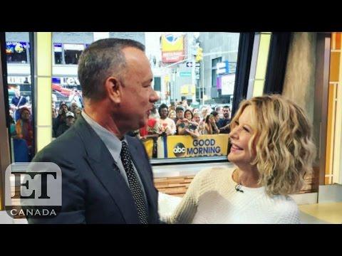 Tom Hanks And Meg Ryan Reunite On 'Good Morning America' In Sweetest Way