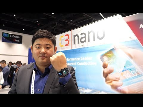 C3Nano Silver Nanowire conductive inks and transparent conductive films for flexible display market