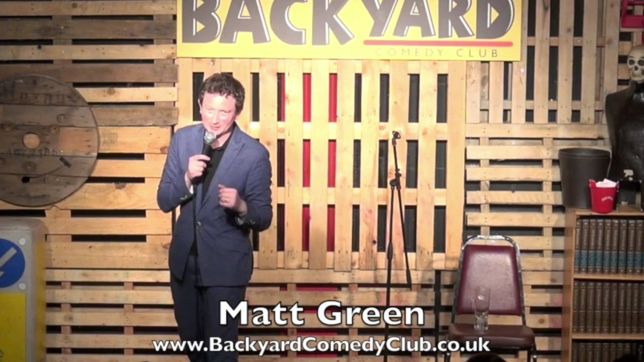 comedian matt green at the backyard comedy club kevin 39 s birthday