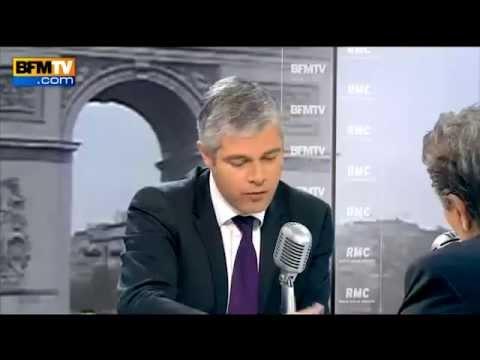 Interview Laurent Wauquiez bfm 261114
