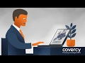 Animated Marketing Video - Covercy – Currency crossing borders