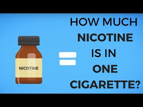 How Much Nicotine is in One Cigarette?