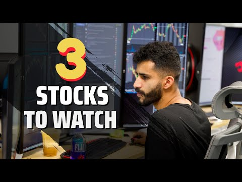 Sunday Stock Talk 🚀  Top 3 Day Trading Stocks