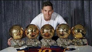 Lionel Messi ● The Best ● 5 Ballon d'Or (2009-2015)