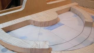 Shaping Wood With Hand Tools - The Architect's Table Part Seven.