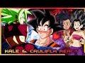 Kale and Caulifla React to Goku vs Kefla : Kefla wins