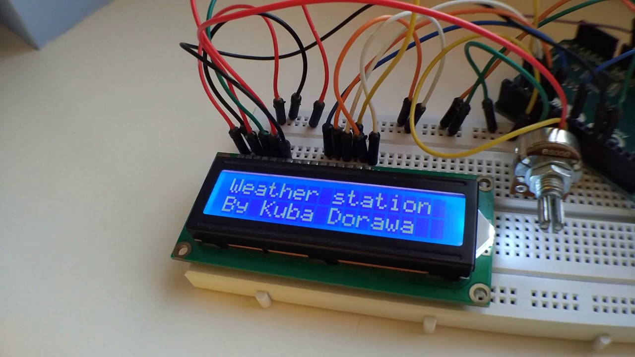2 Arduino - thermometer sensor + lcd - YouTube
