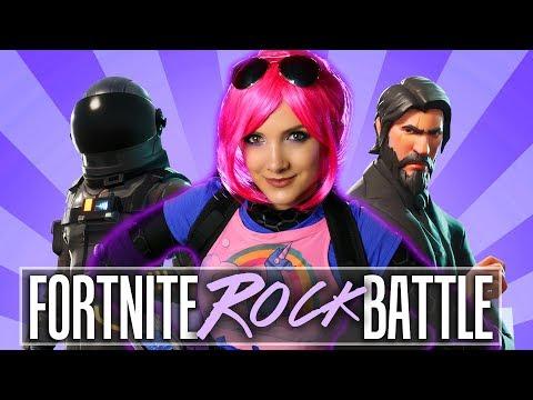 The Fortnite ROCK Battle  Halocene Rockifies NerdOut Rock
