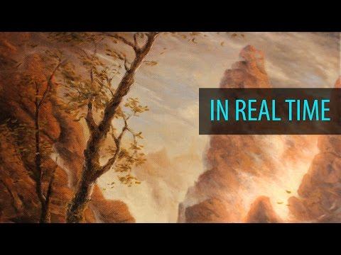 Painting a Foggy Mountain Range - Ryan O'Rourke
