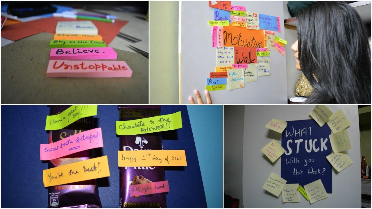 Sticky Notes Ideas Pinterest Diy Riya Thomas Youtube