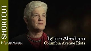 Lyne Abraham on Columbia Ave Riots