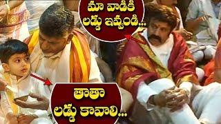 Chandrababu Naidu Visits Tirumala With His Fami...
