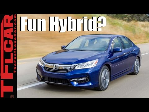 2017 Honda Accord Hybrid Mpg 0 60 Mph Review A Fun Fast Fuel Efficient