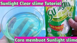 Cara membuat Sunlight Clear Slime tutorial