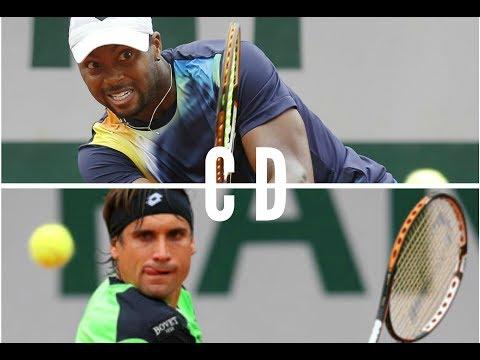 David Ferrer vs Donald Young INSANE 5th Set!! 2017 [HD]