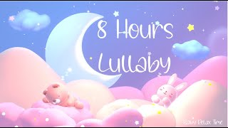 8 hours ♫♫♫ RELAXING MUSIC Lullaby For Babies Sleep ❤ Cute Sleeping Baby Animals.