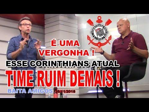 NETO: ESSE TIME DO CORINTHIANS É RUIM DEMAIS ! É UMA VERGONHA  ! ! !