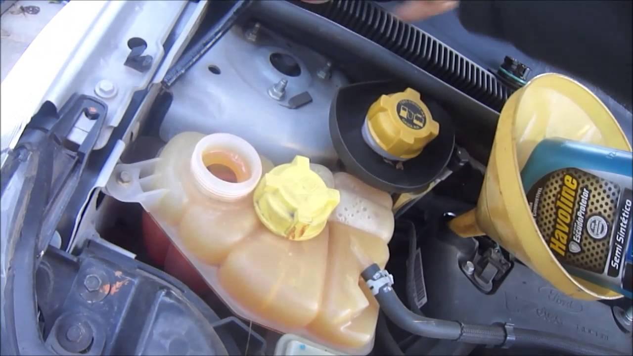 Ford Fiesta  Zetec Rocam Revisao Troca De Oleo E Medicao Disco De Freio Youtube