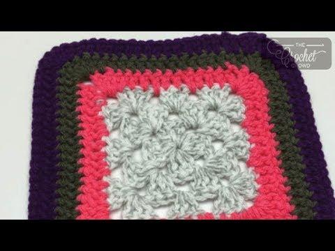 How to Crochet A Border: Double Crochet