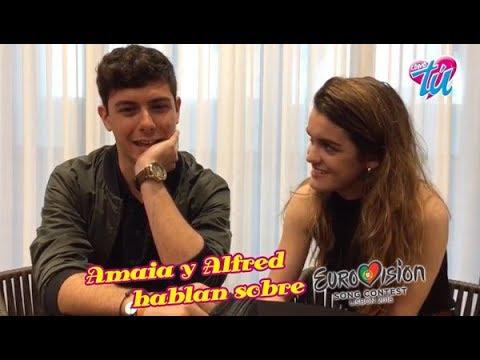 Alfred y Amaia, cuenta atrás para Eurovisión | Revista Como Tú