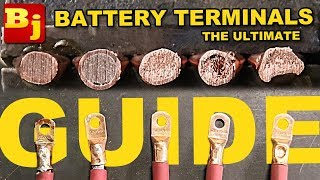 How To Make Your Own Battery Terminals - The Ultimate Guide