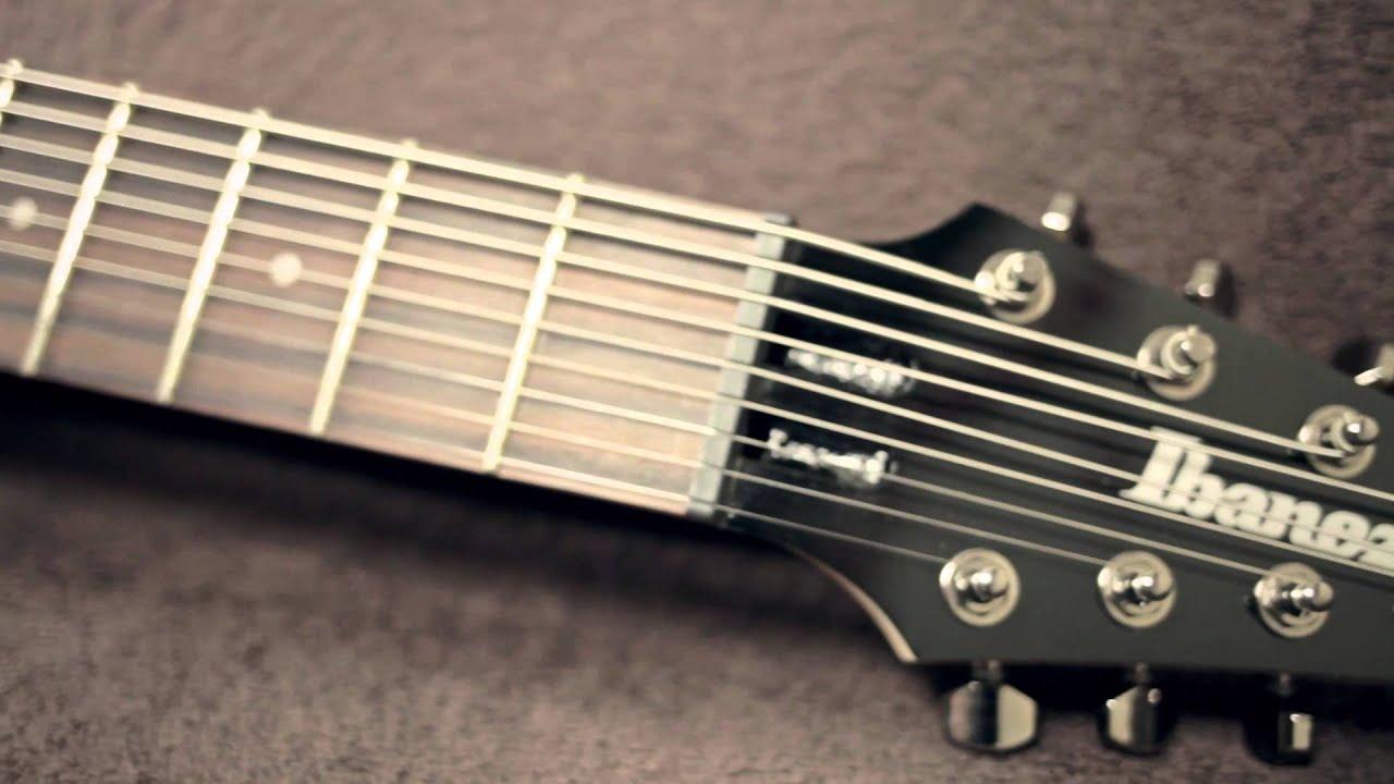 ibanez rg9 bk 9 string guitar metal test youtube