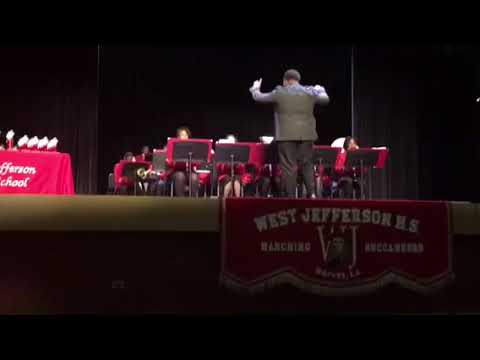 West Jefferson High School Concert Band 2018 - Them Basses